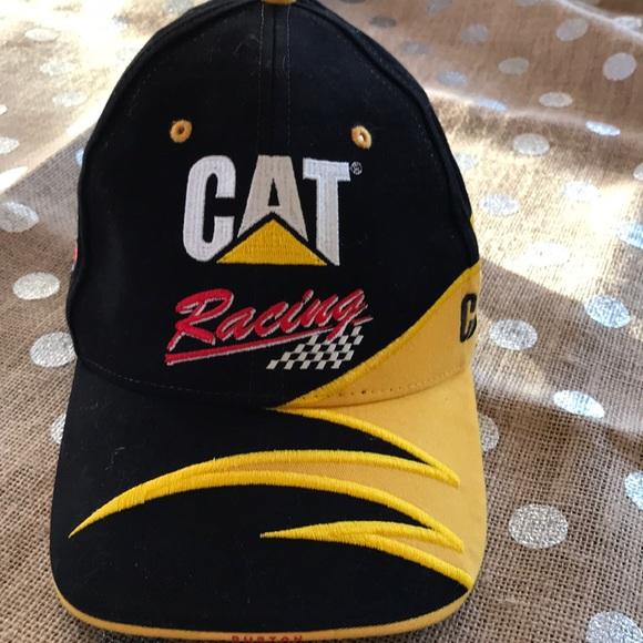 cede5b69 Caterpillar Accessories | Cat Nascar Racing Hat 22 Ward Burton Euc ...